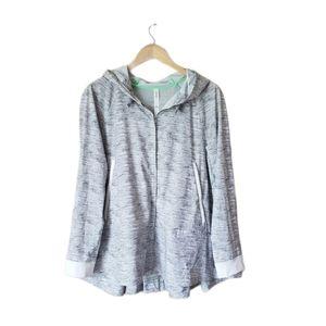 Lululemon Sun showers jacket Gray Green 8
